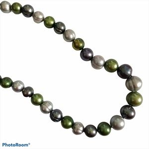 Honora Pearl Necklace Long Statement Vintage Big